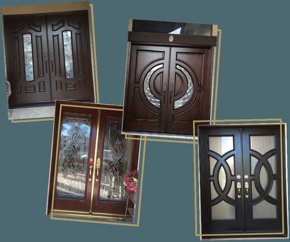Home Entry Doors Jeunesse Wood Door Inc Montclair Claremont