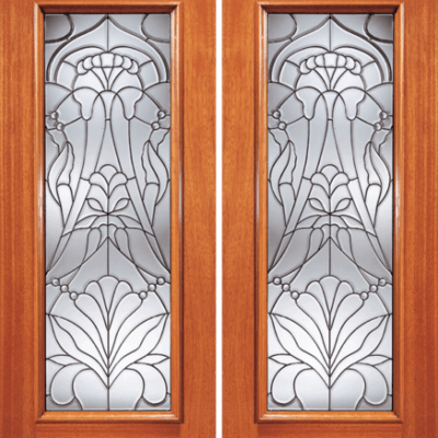 830-Series Mahogany Beveled Glass Wood Exterior Door & Beveled Glass Archives - Jeunesse Wood Door Inc. | Montclair ...