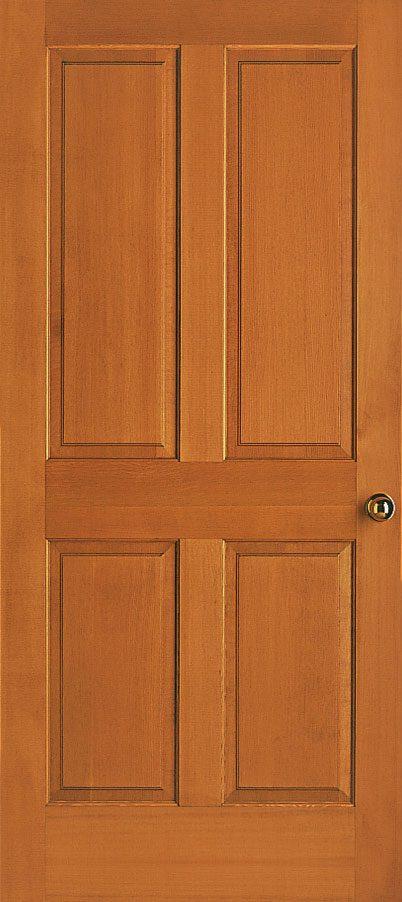 Amazing Medium Walnut Single Interior Door Simpson 44