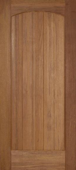 Rustic Teak Wood Exterior Door M651