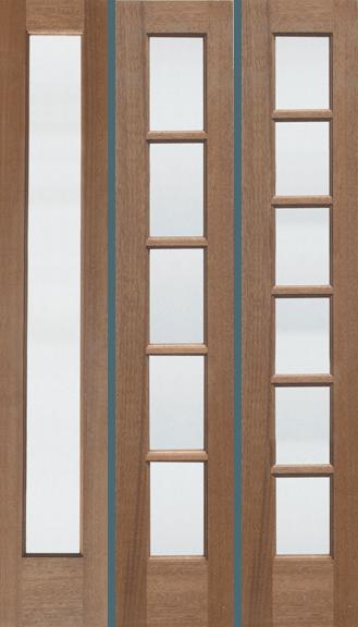 M651 Rustic Teak Wood Exterior Door Jeunesse Wood Door Inc
