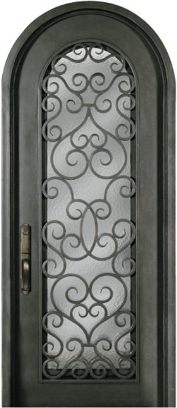 Sr816shx 33 Steel 8 Single Exterior Iron Entry Door Jeunesse Wood