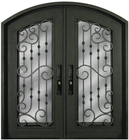 Ss516whxx 54 Steel 64 X 81 Double Exterior Iron Entry Doors