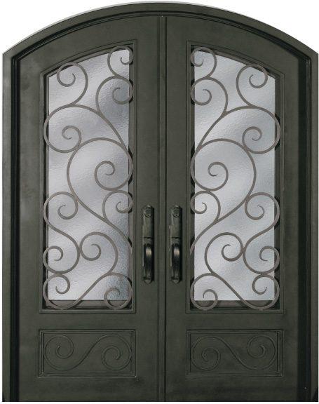 Ss818shxx 54 61 Steel Double Exterior Iron Entry Doors Jeunesse