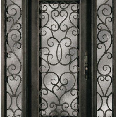 Iron Doors W Sidelite Archives Jeunesse Wood Door Inc