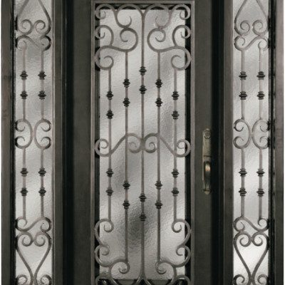 Iron Doors W Sidelite Archives Jeunesse Wood Door Inc