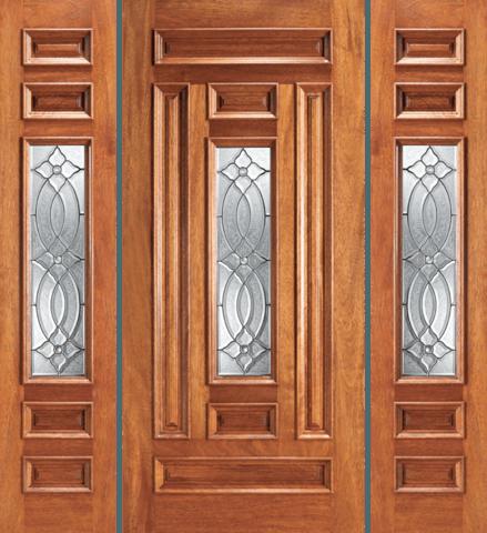 203 A Mahogany Single Unique Entry Wood Exterior Door Jeunesse